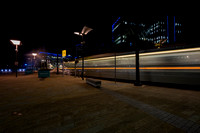 05 Media City Tram at Night © Bob Riach Jigsaw Photography LTD