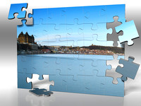 Scarborough Bay Jigsaw taken by Bob Riach