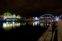 Gateshead Tyne Bridge and The Sage taken by Bob Riach
