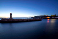 Whitby Lighthouse taken by Bob Riach