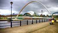 Tyne, Newcastle Gateshead taken by Bob Riach