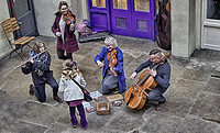 Street Players in London taken by Bob Riach