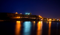 Whitby at Night taken by Bob Riach