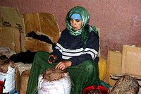 Moroccan working Woman taken by Bob Riach