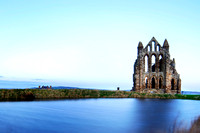 Whitby Castle  Early Morning  taken by Bob Riach