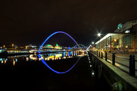 Gateshead Millennium Bridge taken by Bob Riach